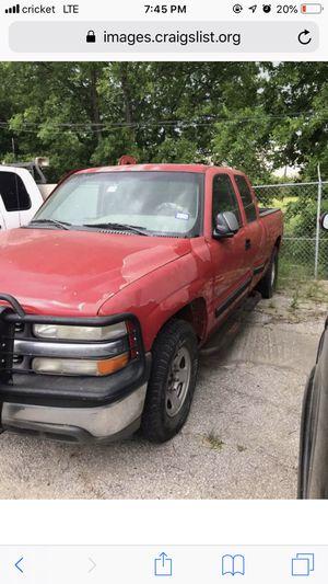 01 Silverado z71 for parts for Sale in San Antonio, TX