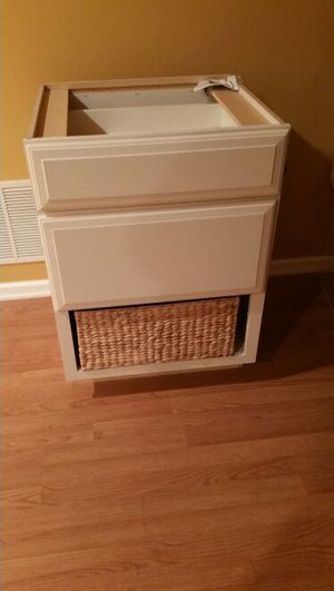 NEW White Cabinet - 3 Drawers for Sale, used for sale  New York, NY