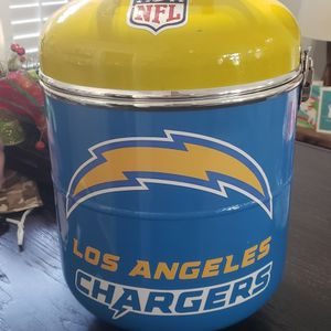 One Of A Kind Los Angeles Chargers NFL Cooler / Ice Chest Only 1 Available $60 for Sale in Moreno Valley, CA