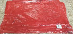 Supreme cutout logo crewneck, red, large for Sale in Herndon, VA