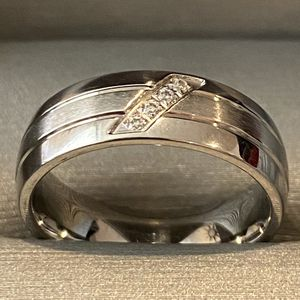 Unisex Silver Engagement /Promise/ Wedding Ring - Code NG33 for Sale in Washington, DC