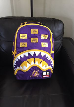 SPRAYGROUND NBA LAB LAKERS PATCH BACKPACK for Sale in Long Beach, CA