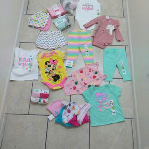 Baby Clothes (Girl) New for Sale in Phoenix, AZ