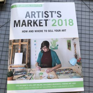 Book artist's market 2018 sell your art for Sale in Daly City, CA