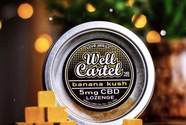 CBD Hard Candies 40 pcs @ 5mg per piece = 200mg Pure CBD per jar