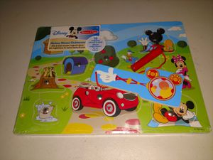 Disney Mickey mouse clubhouse magnetic magnet puzzle toy game for Sale in Los Angeles, CA