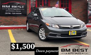 2012 HONDA CIVIC EXL 💫💫1 OWNER 💫💫 for Sale in Beverly, MA
