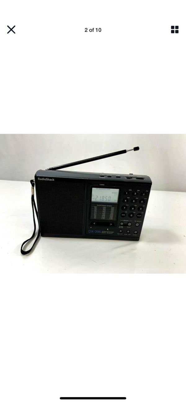 Radioshack Dx-396 Am / Fm Stereo / SW:PLL Portable Receiver / Works