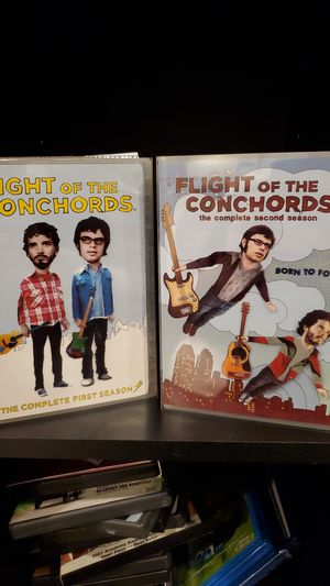 Flight of the Conchords Seasons 1 and 2 DVD collection for Sale in Costa Mesa, CA