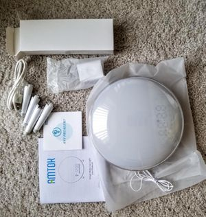Brand new alarm clock wake up light for Sale in Katy, TX