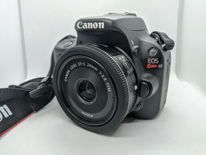 Canon Rebel SL1 SLR Camera w/ 2 Fantastic Lenses for Sale in Holland, MI
