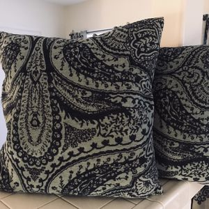 Two Blue Accent Pillows for Sale in Hermosa Beach, CA