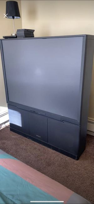 """60"""" inch flat screen box tv for Sale in Taylor, MI"""