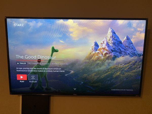 "55"" 4K Roku Smart Tv"