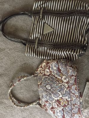 Guess Tote and Vera Bradley Bag for Sale in Bellevue, WA