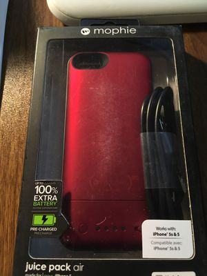 Juice pack air new special edition iPhone 5s and 5 for Sale in Boca Raton, FL