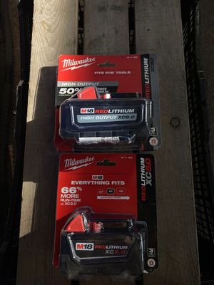 5.0A and 8.0A BATTERIES for Sale in Joint Base Lewis-McChord, WA