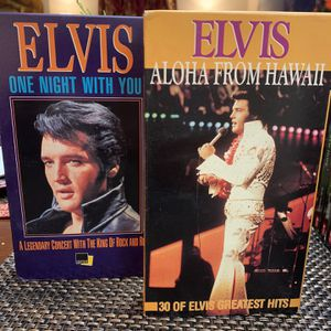 Elvis Presley VHS for Sale in Houston, TX