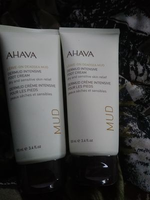 Free sealed Ahava foot cream - retails for 29 dollars each for Sale in Irvine, CA