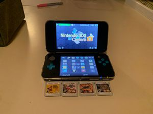 Nintendo 2DS XL with 4 Games for Sale in Long Beach, CA