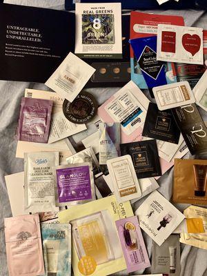Makeup sample, perfume sample,travel size. Various brands. Lancome lamer ysl origins glamglow Sisley guerlian Kiehls shisedo chanel Dior for Sale in Las Vegas, NV