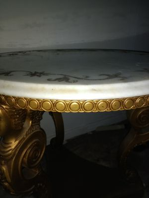 Table marble top for Sale in Hewlett, NY