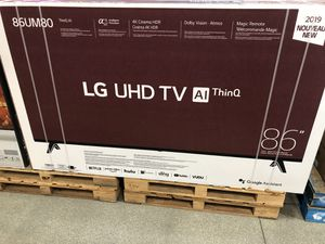 "LG UHD TV 86"" for Sale in Los Angeles, CA"
