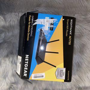 NETGEAR NIGHTHAWK AC1750 Smart WiFi Router for Sale in New Brunswick, NJ