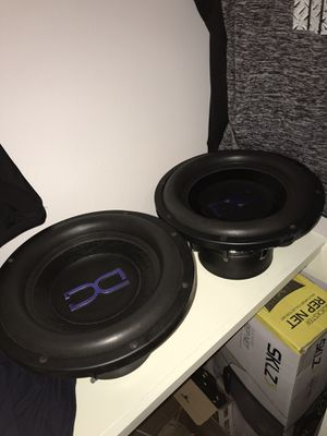DC Audio 12's level 3 w/pro Box for Sale in Edinburg, TX