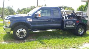 2008 Ford F450 Super Duty Tow Truck for Sale in Miami, FL