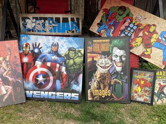 Super hero pics for Sale in Sanger,  CA