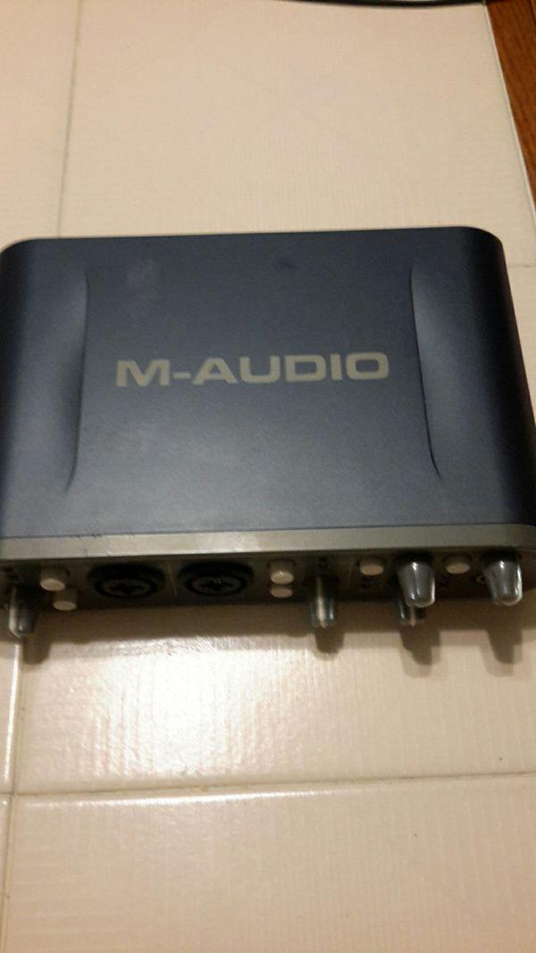 M Audio fast track pro