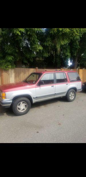 1991 Ford Explorer XLT Eddie Bauer 4x4 for Sale in Everett, WA