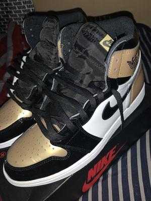 "Jordan 1 ""gold toe"" for Sale in Batesburg, SC"