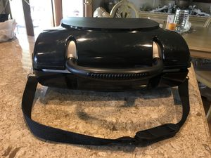 George Foreman portable gas grill. Great for camping or just on your patio. Comes with carrying case. for Sale in Edgewood, WA