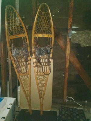 Vintage snocraft snowshoes Norway Maine for Sale in San Bernardino, CA