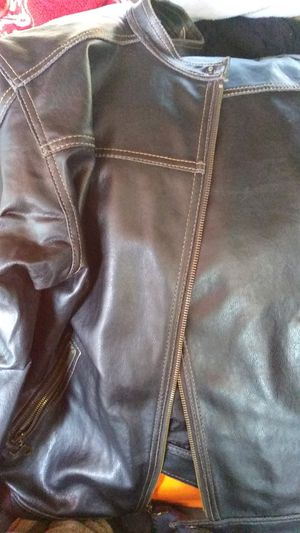 Med, mens leather jacket asking 40.00. O.B. for Sale in San Jose, CA