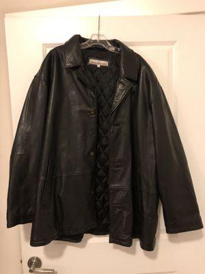 Perry Ellis men's leather coat for Sale in Washington, DC