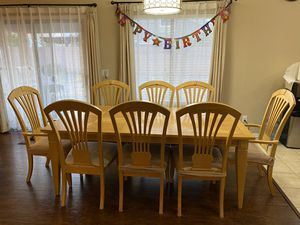 Dining Table Chairs China Buffet Server set for Sale in Goodyear, AZ