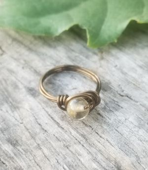 Citrine Crystal Wire Ring for Sale in Riverside, CA