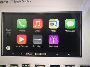 Alpine iLX-007 Apple CarPlay Headunit for Sale in Fairfax, VA