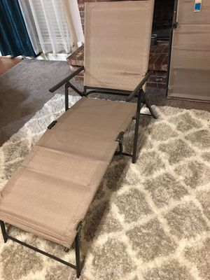 BRAND NEW OUT OF THE BOX, NEVER USED SET of 2 Patio Lounge Chairs ((READ DESCRIPTION BELOW)) for Sale in Grand Prairie, TX