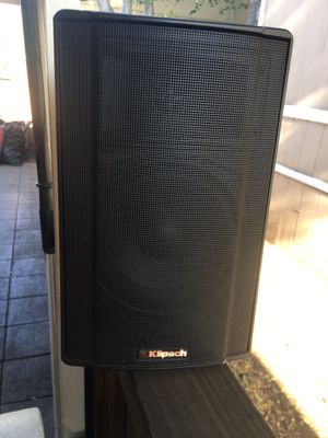 """klipsch speaker 7"""" wide and 10"""" tall for Sale in East Palo Alto, CA"""
