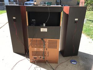 Sony R4400 stereo system with Speakers for Sale in Dearborn, MI