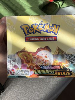 Pokemon Darkness Ablaze Booster Box for Sale in Clovis,  CA