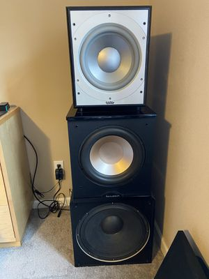 """Subwoofers 10"""",12"""" & 15"""" for Sale in Commerce City, CO"""