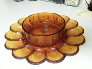 Antique deviled egg serving tray! for Sale in Kolin, LA