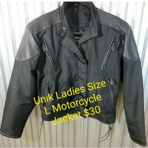 Womens Size Large Motorcycle Jacket $30 for Sale in Lewis Center, OH