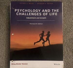 Psychology and The Challenges of Life for Sale in Oakley, CA