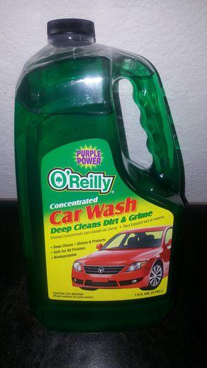1 gallon Purple Power Oreillys brand car wash soap for Sale in Hesperia, CA